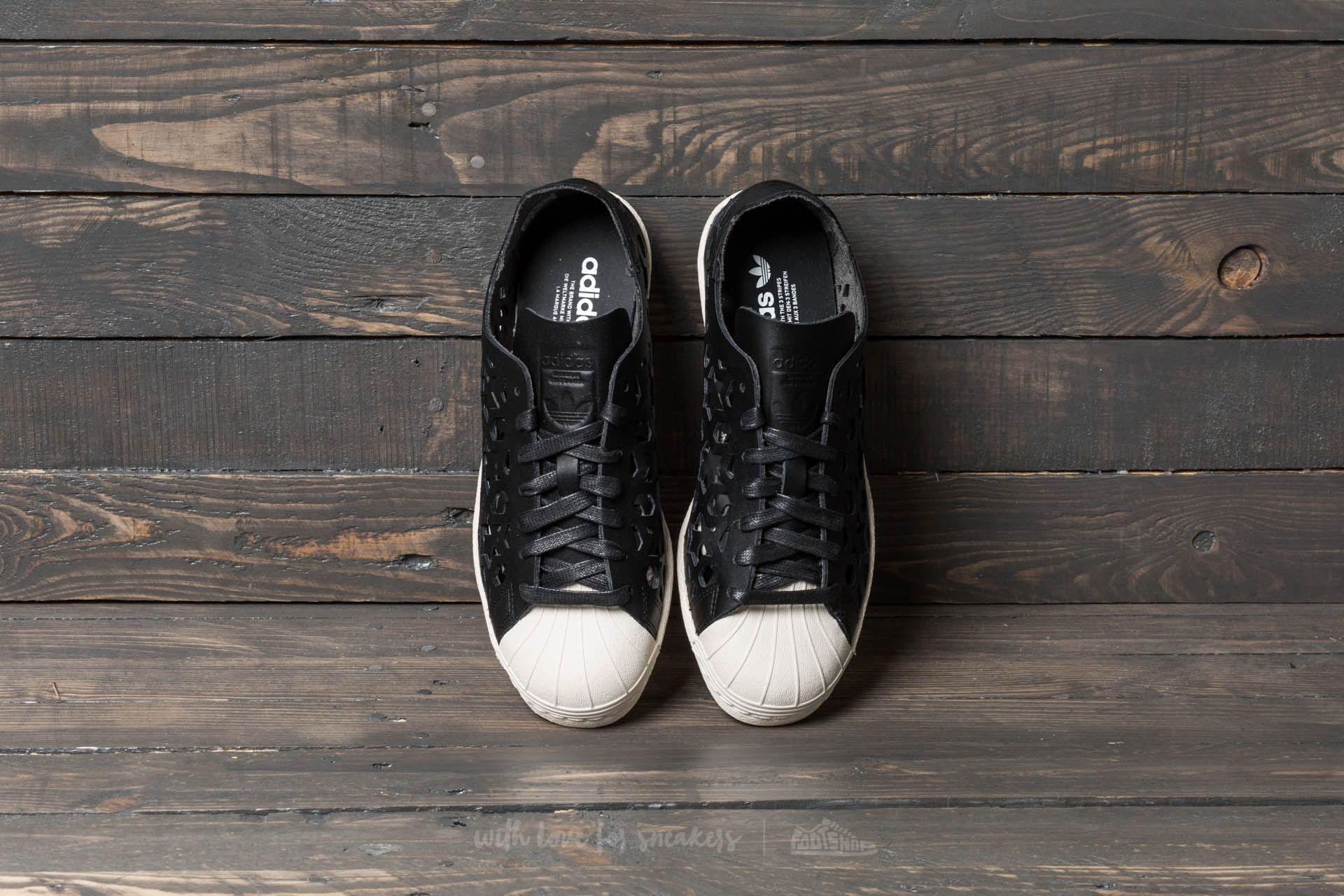Adidas Superstar 80s Cut out W Core negro / CORE la negro / blanco la CORE 664d3d