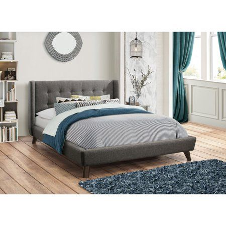 Coaster Furniture Carrington Upholstered Bed #coasterfurniture