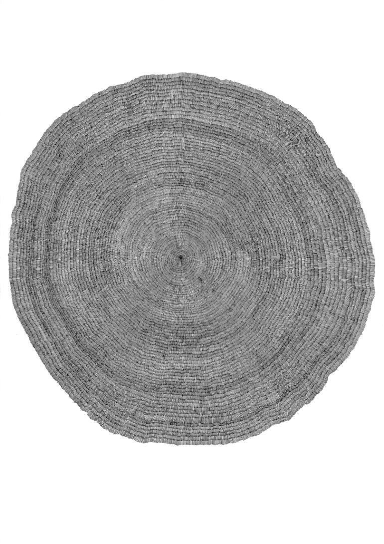 "Saatchi Art Artist Marlene Huissoud; Drawing, ""Tree"" #art"