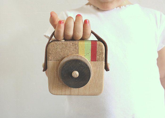 Anagram - Wooden Camera Inspired by Instagram. $35.00, via Etsy.
