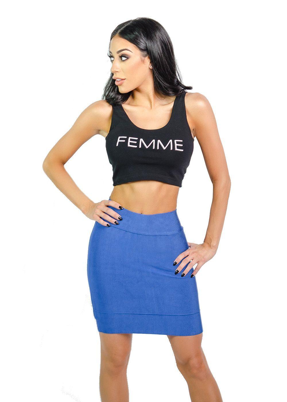 """""""Femme' Crop Top"""