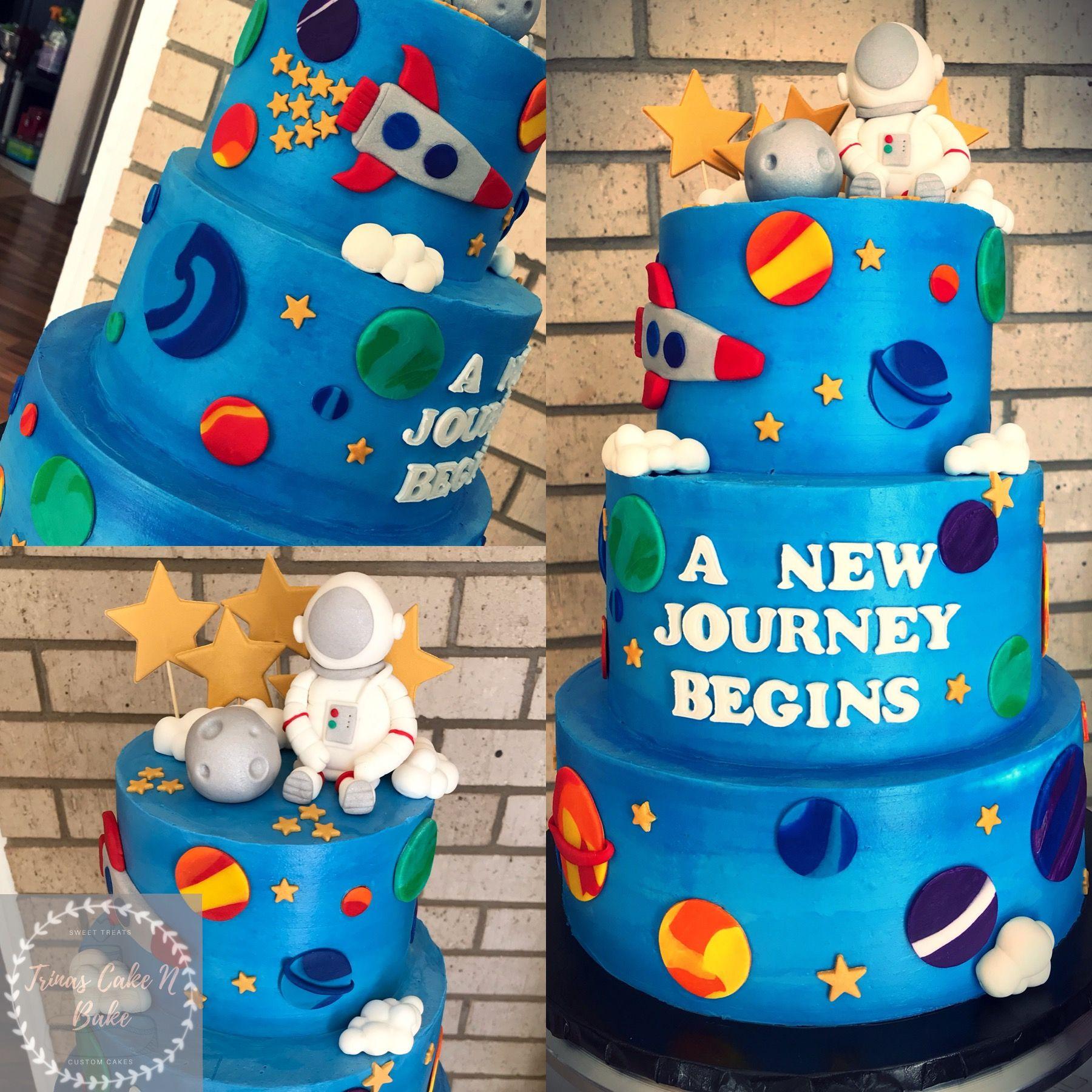 12++ Diy outer space cake ideas