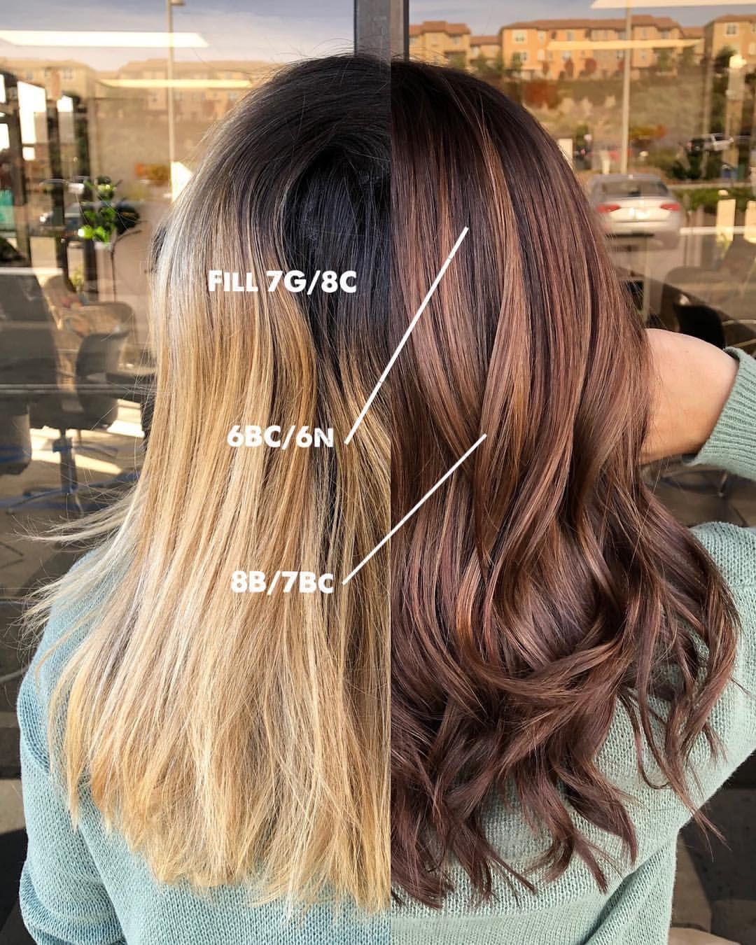 Lets Talk About Fillers Going From Blonde To Brunette Mirella Manelli Brunette Hair Color