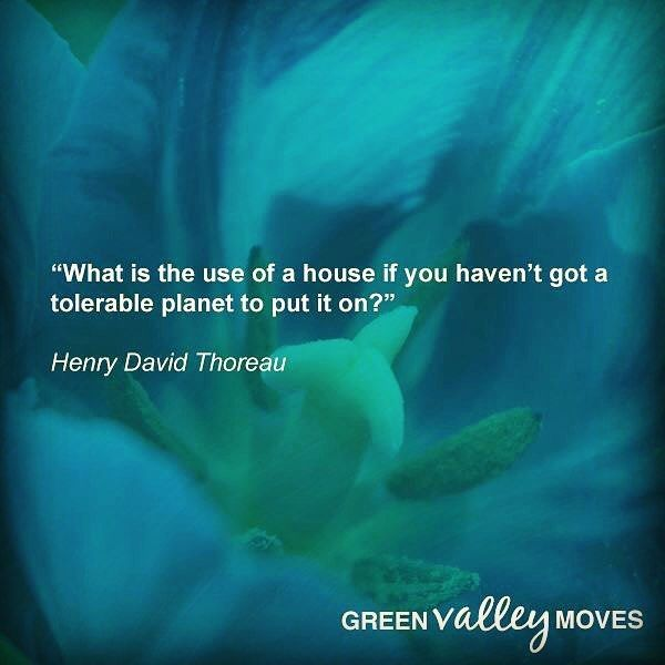 Green Valley Moves Core Values  #1 SUSTAINABILITY  What is the use of a house if you haven't got a tolerable planet to put it on - Henry David Thoreau  #GreenValleyMoves #EcoEstateAgents #SustainabilityQuotes #Sustainability #henrydavidthoreau #Cardiff #cardiffbiz #ecofriendly Re-post by Hold With Hope