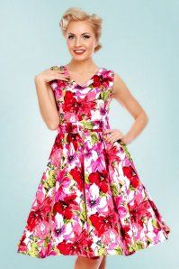 b3db6e30ce80f Dolly and Dotty Petal Floral Swing Dress 102 59 22323 20170627 0017 ...