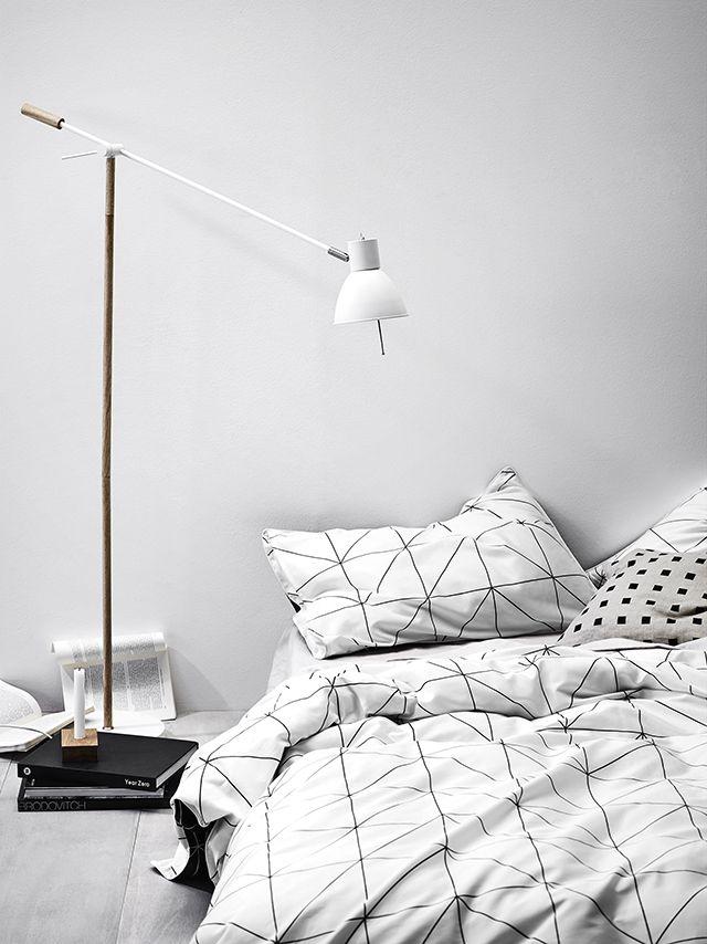 Nordisch schlicht Natur-Weiß als Wandfarbe #KOLORAT#Wandfarbe