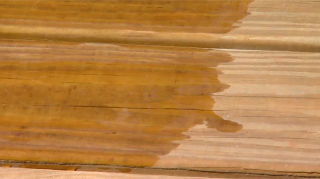 When To Seal Or Stain Pressure Treated Wood Staining Pressure Treated Wood Wood Treated Deck Boards
