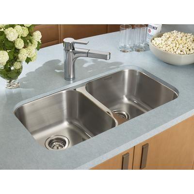 blanco - homestyle 2.0 undermount stainless steel sink - 400742