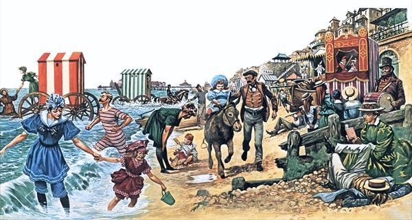 Image result for the victorian seaside