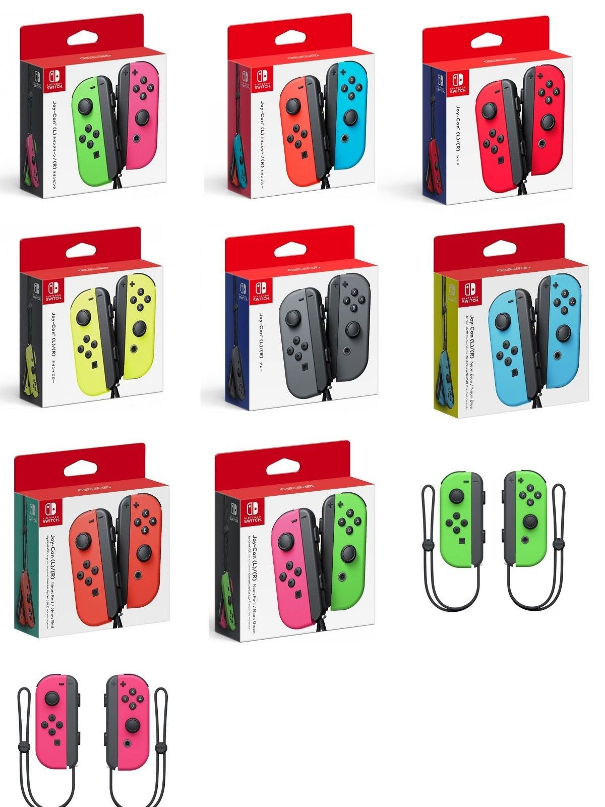 Nintendo Switch Joy Con Wireless Controller Various Colors Available Ebay Nintendo Switch Accessories Nintendo Switch Nintendo Switch Games