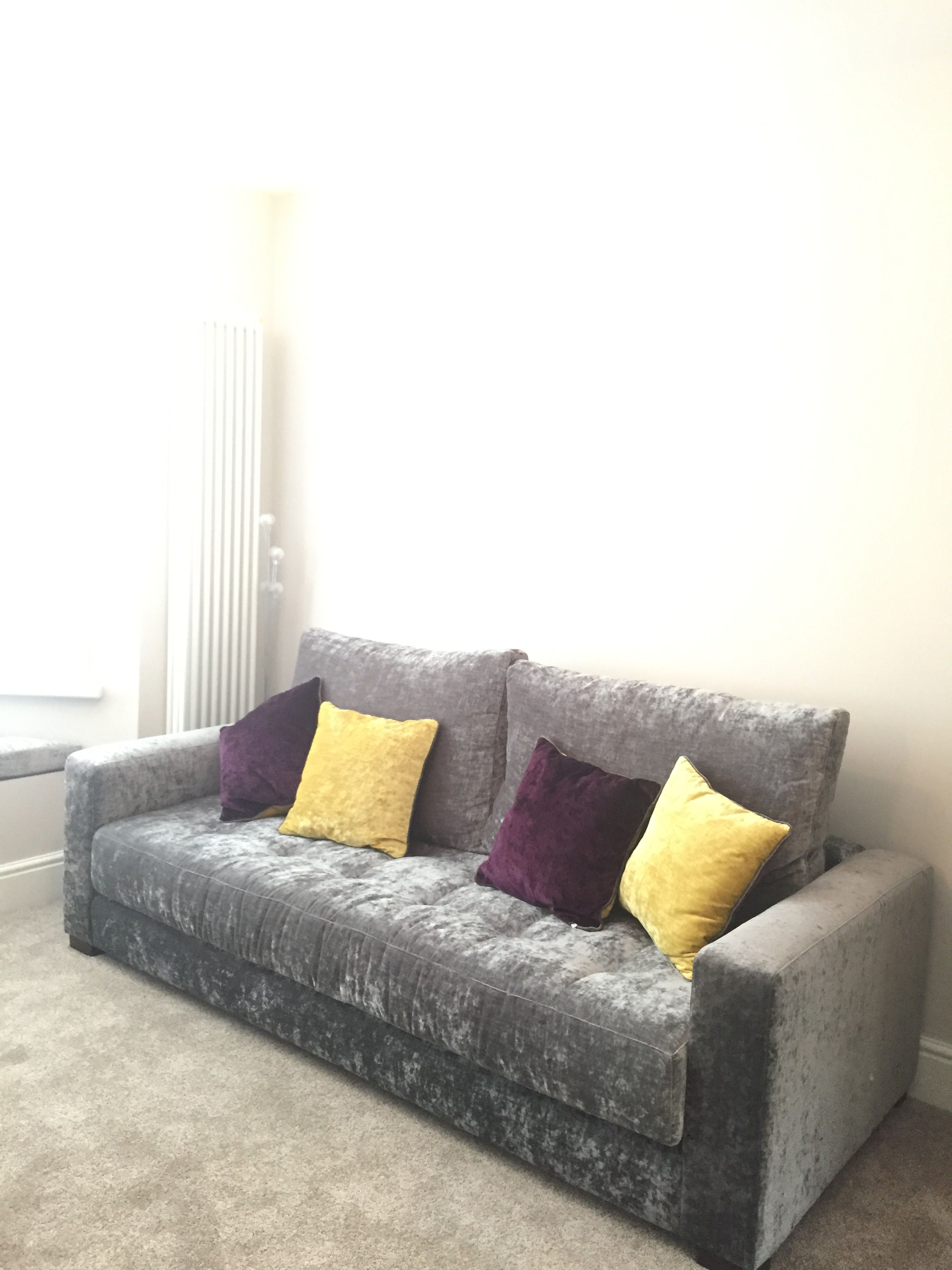 Bespoke Yecla sofa 230 cm wide with removable arms for delivery