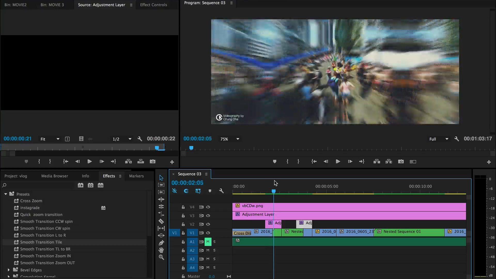 Skip to video section: 1:50 - Diagonal Pan Transition 4:00