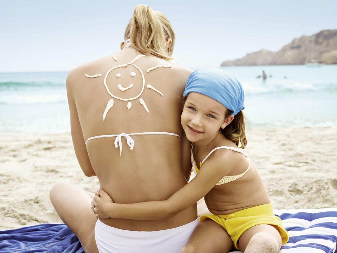 Mit dem richtigen Sonnenschutz lacht die Sonne auf der Haut. #nivea #dlrg #sicherheit #wasser