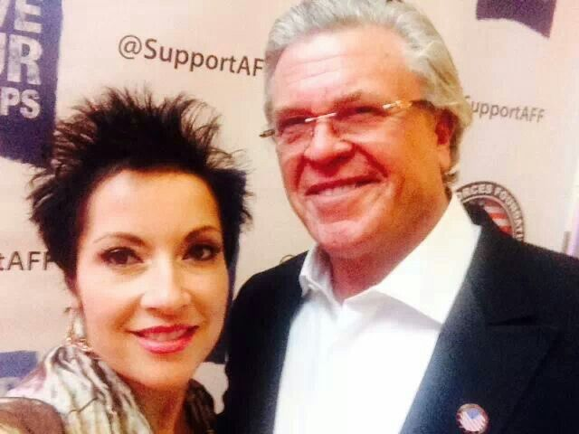 Ron & I at the Armed Forces Gala in Washington DC. #SupportOurTroops