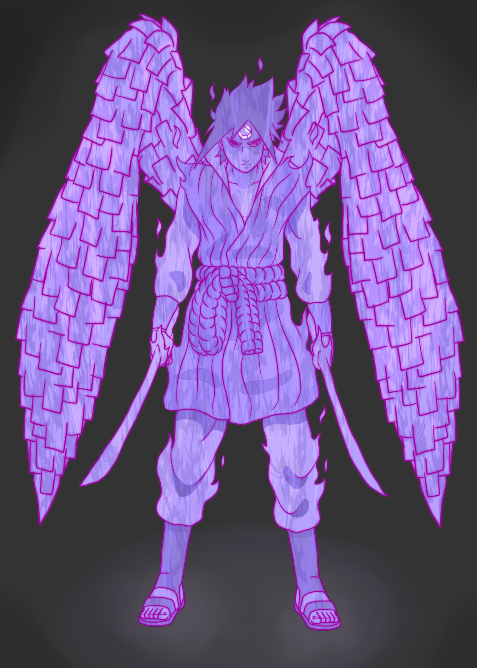 Sasuke Susanoo mode by MArttist on DeviantArt | Susanoo ...