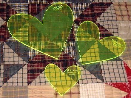 Gadget Girls Heart Set Longarm Quilting Tool | longarm rulers and ... : longarm quilting gadgets - Adamdwight.com