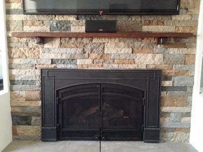Airstone Autumn Mtn +Spring Creek Fireplaces  mantels Pinterest