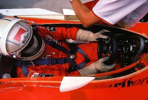 Jochen Mass with McLaren-Ford, 1976