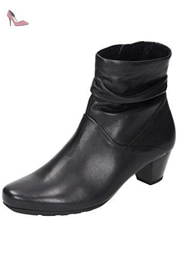 Gabor Shoes Comfort Sport, Bottes Femme, Noir (57 Schwarz Micro), 42 EU