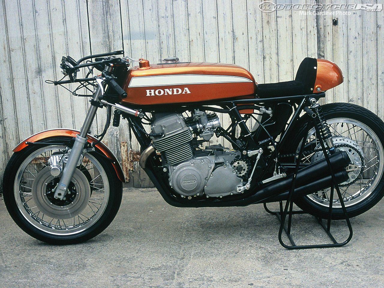 Dick Mann S 1970 Daytona 200 Honda Cb750 Racing Type Sport