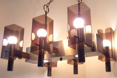 Lighting Mid Century Modern Chandelier