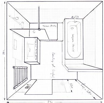 Salle De Bain De 6m2 Baignoire Douche Wc Recherche Google Ju