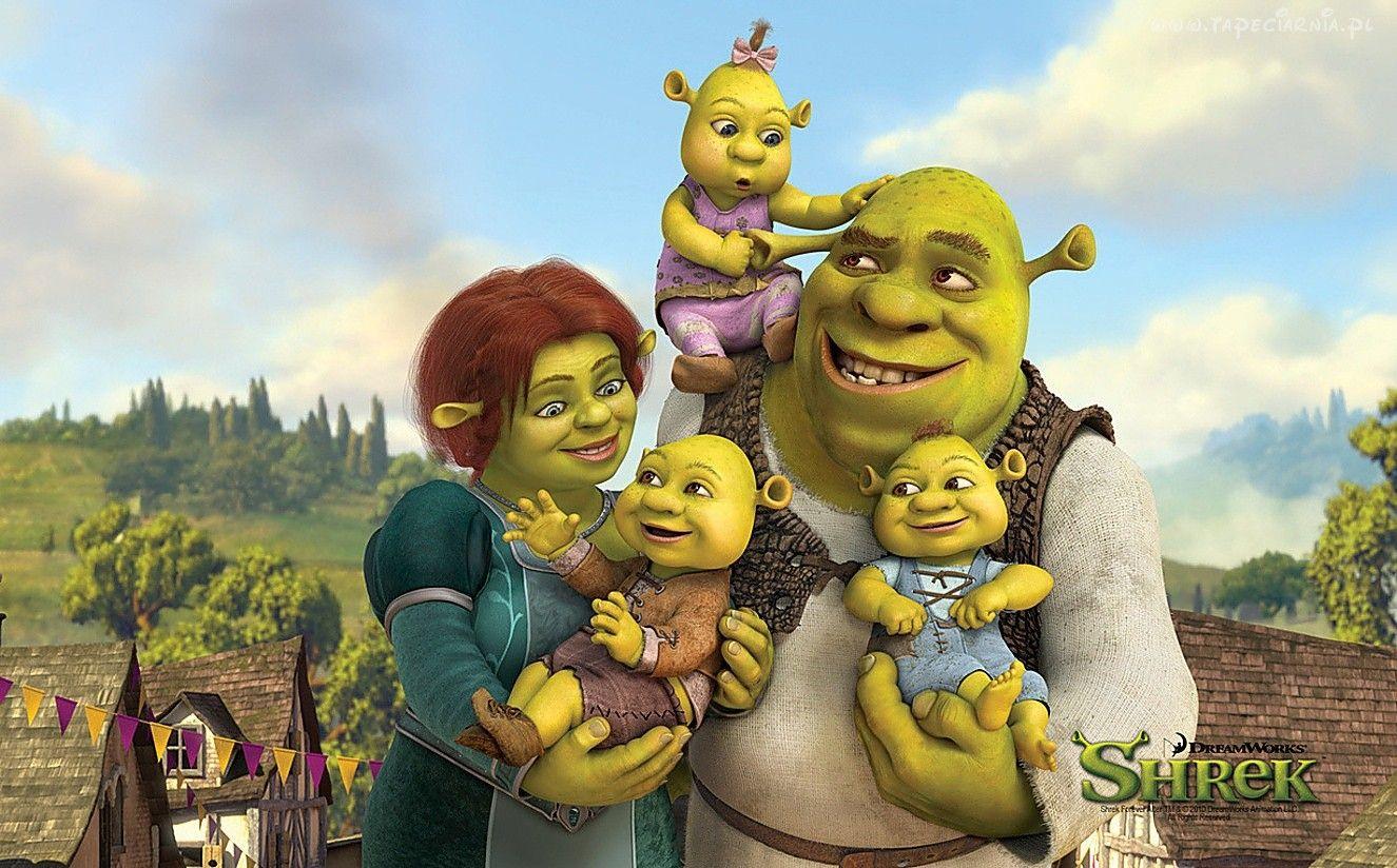 Shrek Fiona Dzieci Shrek Filmes Infantis Fiona E Sherek