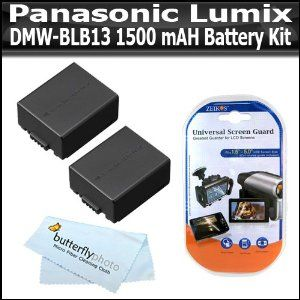 2 Pack Battery Kit For Panasonic Lumix Dmc G10 Dmc Gf1c Dmc Gh1 Dmc G1 Dmc G2 Digital Camera Includes 2 Extende Panasonic Camera Panasonic Lumix Digital Camera