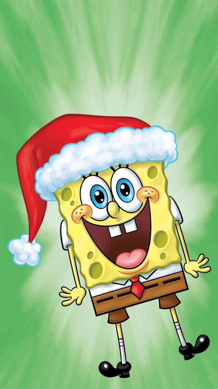 Spongebob Christmas Who : spongebob, christmas, Santa!, Spongebob, Wallpaper,, Drawings,, Christmas, Cartoon, Characters