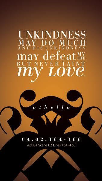Amanda Degiuseppe Othello Shakespeare Shakespeare The