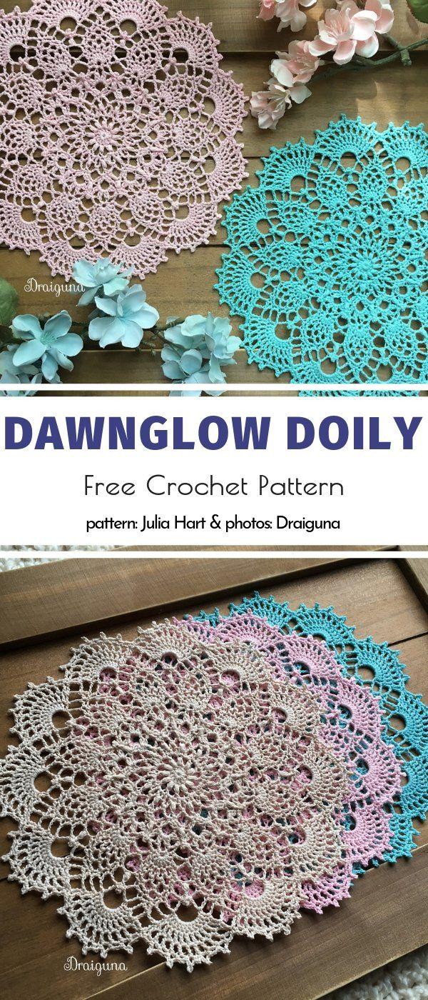 Amazing Crochet Doilies Free Patterns