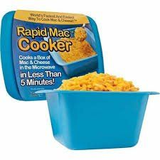 Rapid Mac Cooker - Microwave Boxed Macaroni and Cheese in 5 Minutes, Easy Lunch & Dinner //Price: $ & FREE Shipping  // #home #decor #interior #room #kitchen   #homesweethome #homedesign #myhome