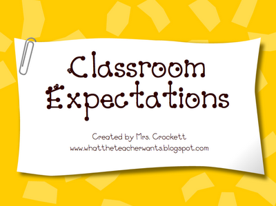 What the Teacher Wants--1st Day of School Powerpoint to teach expectations!  You can change it to meet your own classroom needs!