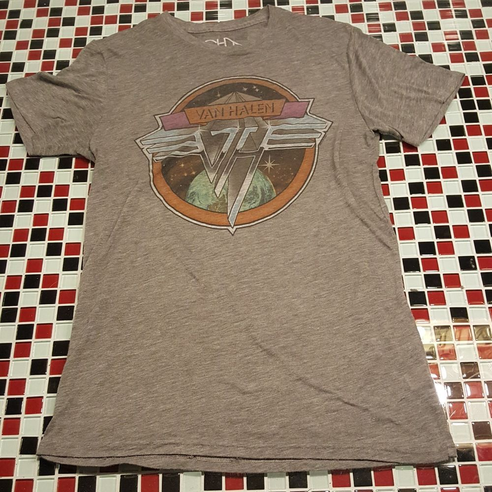 Rare Van Halen Chaser La Medium T Shirt 1979 World Tour David Lee Roth Evh Fashion Clothing Shoes Accessories Mensclothin Rare Vans Shirts Mens Tshirts