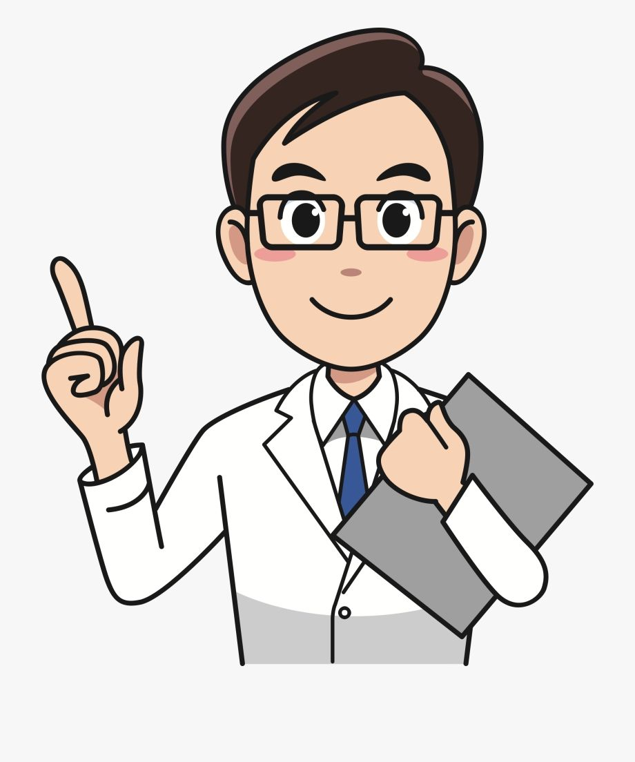 Doctor Clipart Ilustrasi Karakter Clip Art Kartun