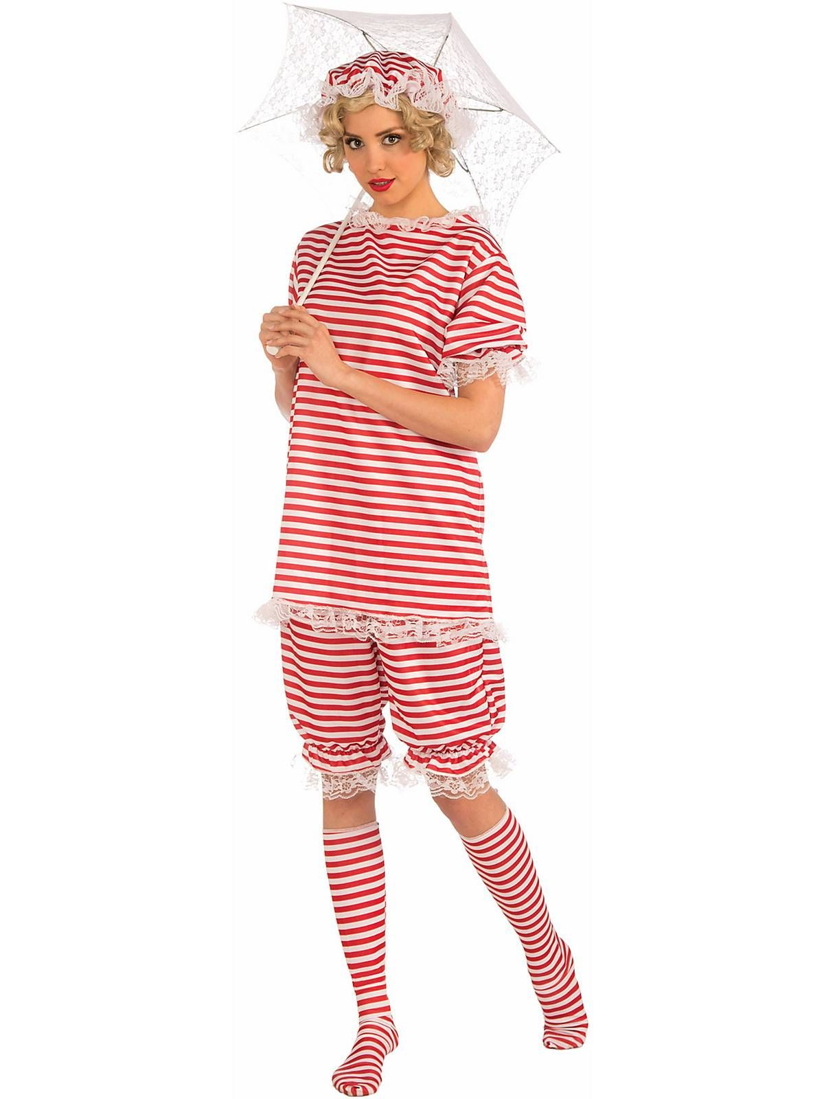 1920\'s Bathing Suit Adult Costume | Costumes, Halloween costumes and ...