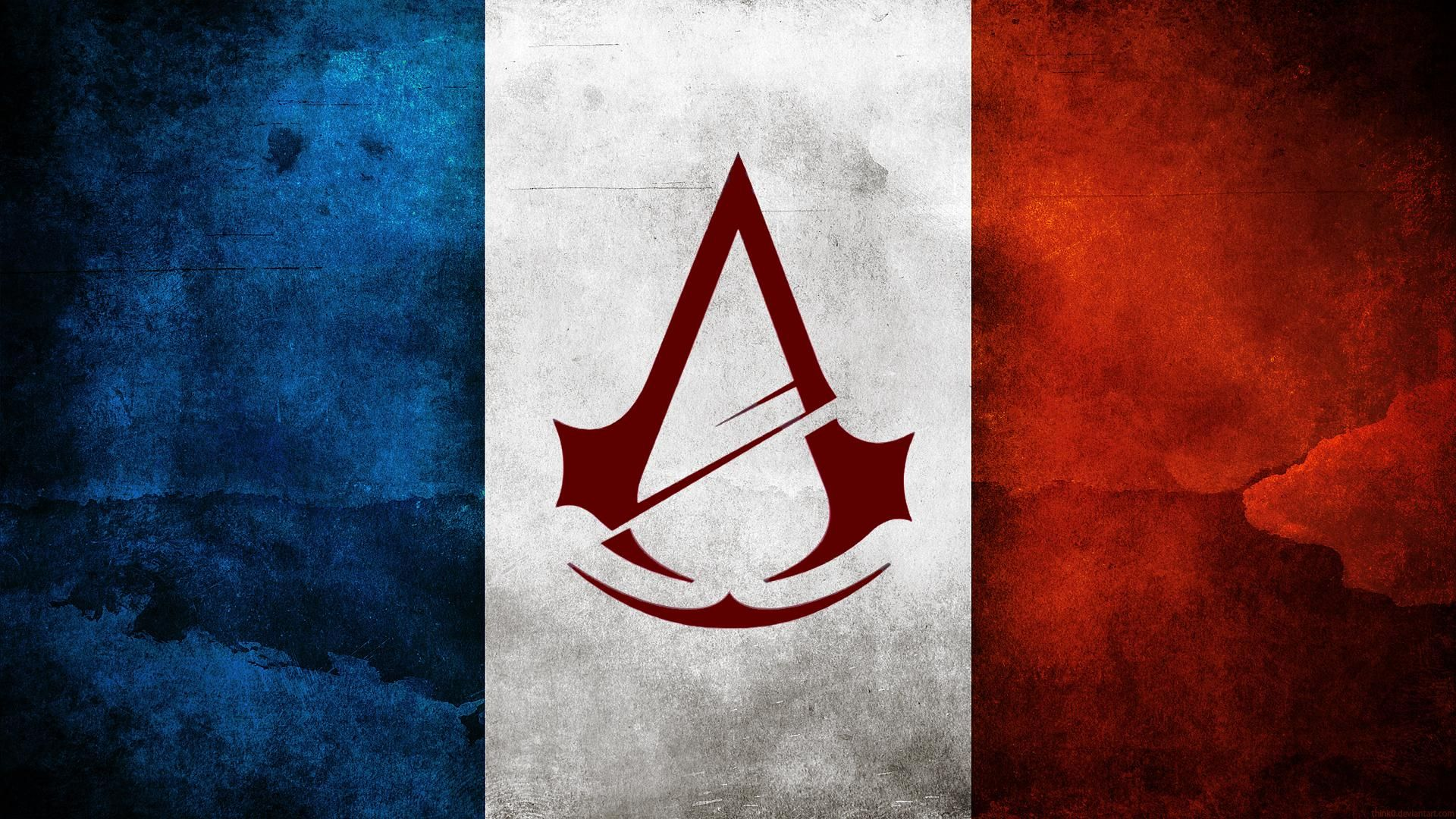 Ac Unity Assassins Creed Drapeau Jeux