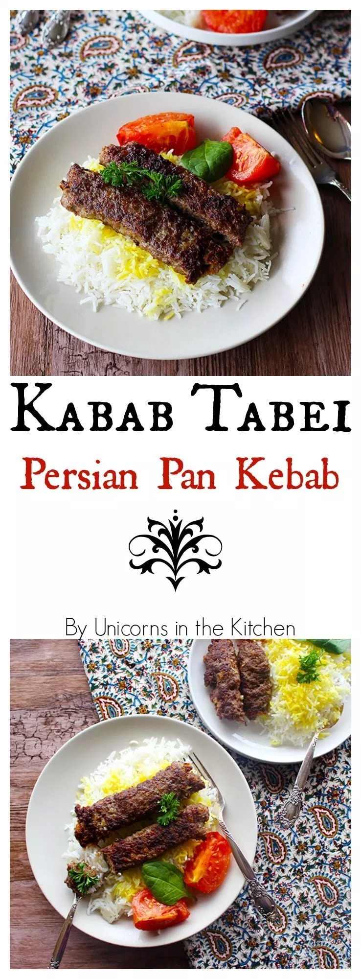 Kabab Tabei Persian Pan Kebab Unicorns In The Kitchen Kebab Supper Recipes Recipes