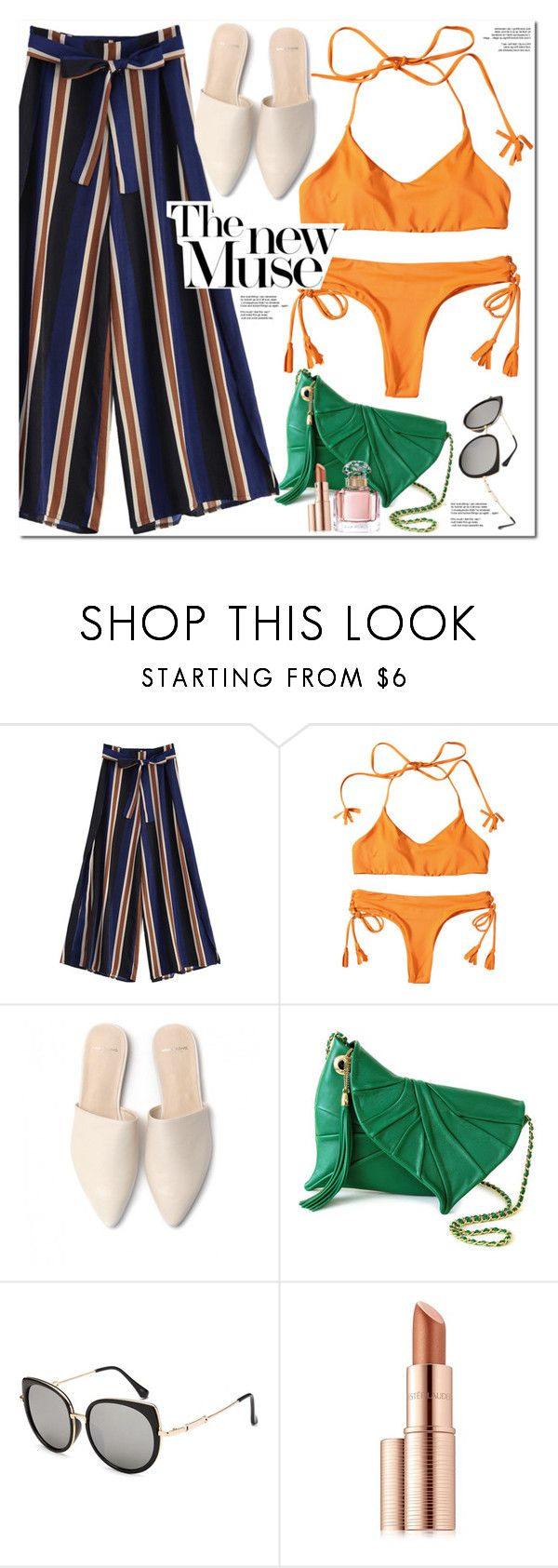 """""""The New Muse"""" by oshint ❤ liked on Polyvore featuring Estée Lauder and Guerlain"""