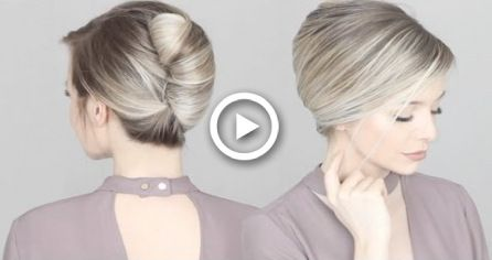 HOW TO French Twist Updo Hair Tutorial HOW TO French Twist Updo Hair Tutorial