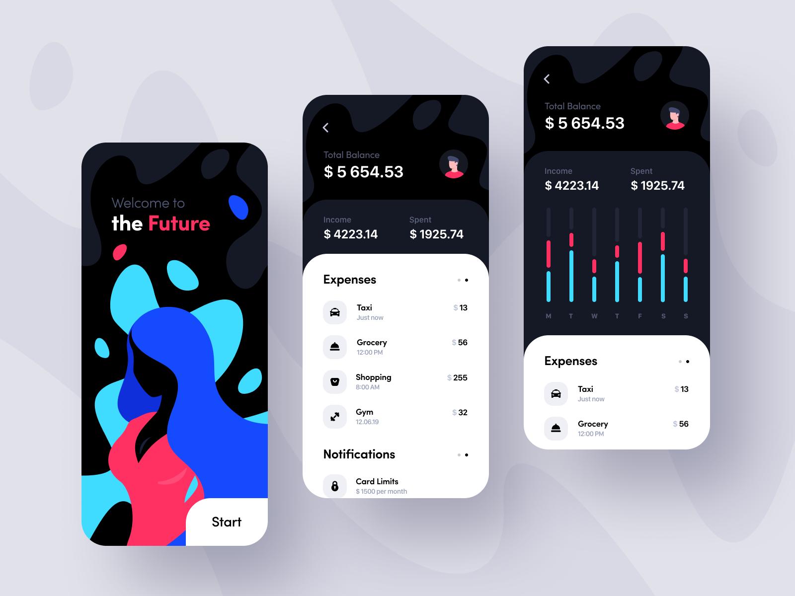 Mobile Banking App Banking App Finance App Mobile Banking