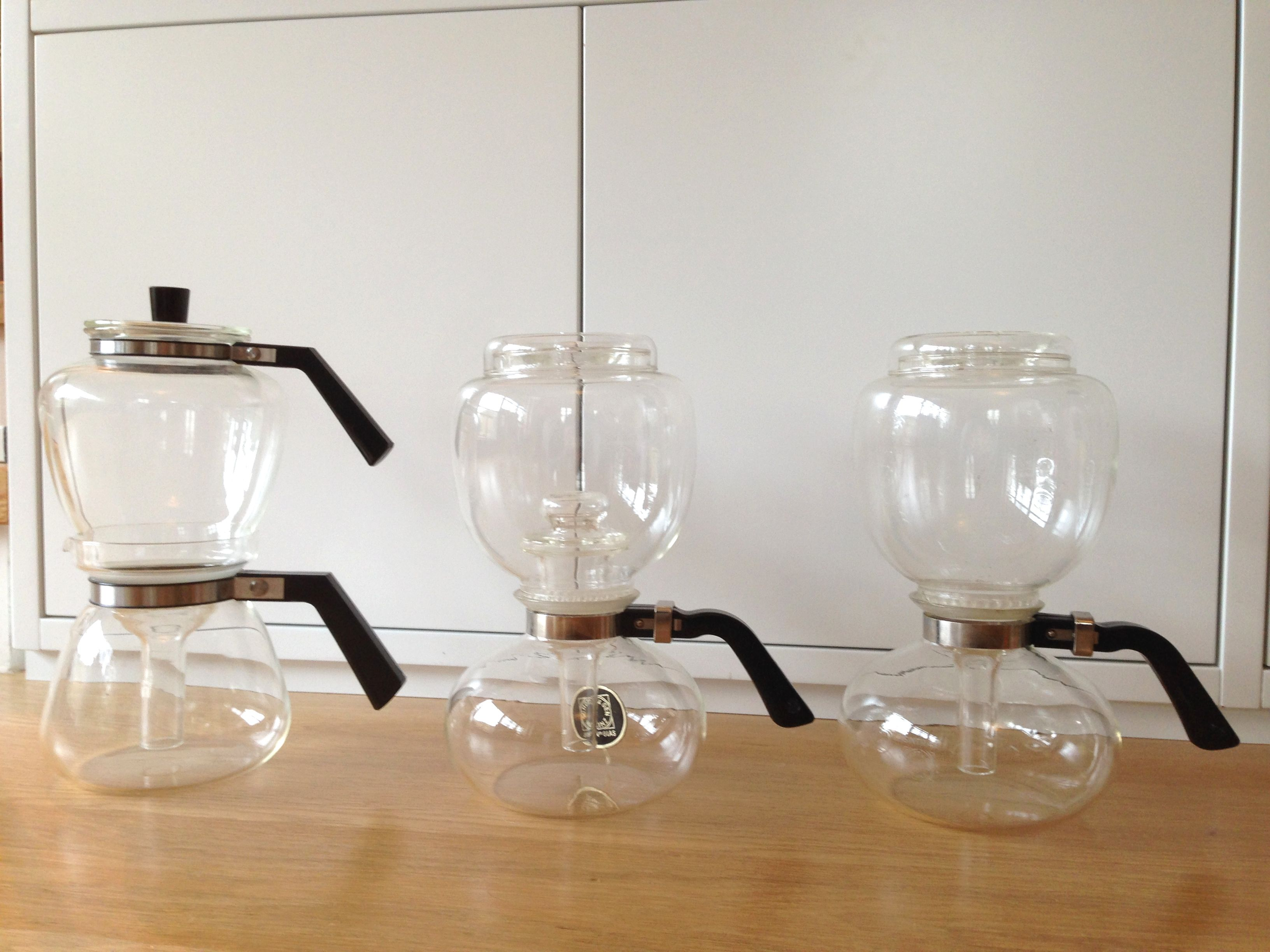 Küchenlounge Wagenfeld ~ Glass coffeemakers vacuum principle first by heinrich