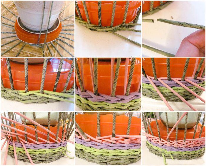 Послойное плетение мастер класс видео