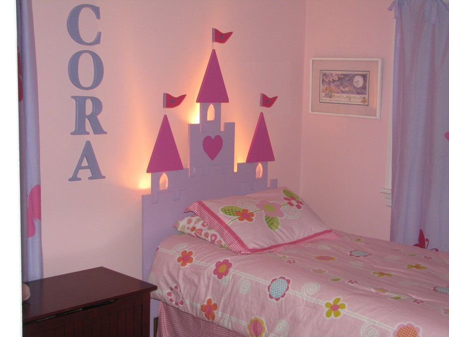 How to create a princess bedroom on a budget share your for Castle bedroom ideas