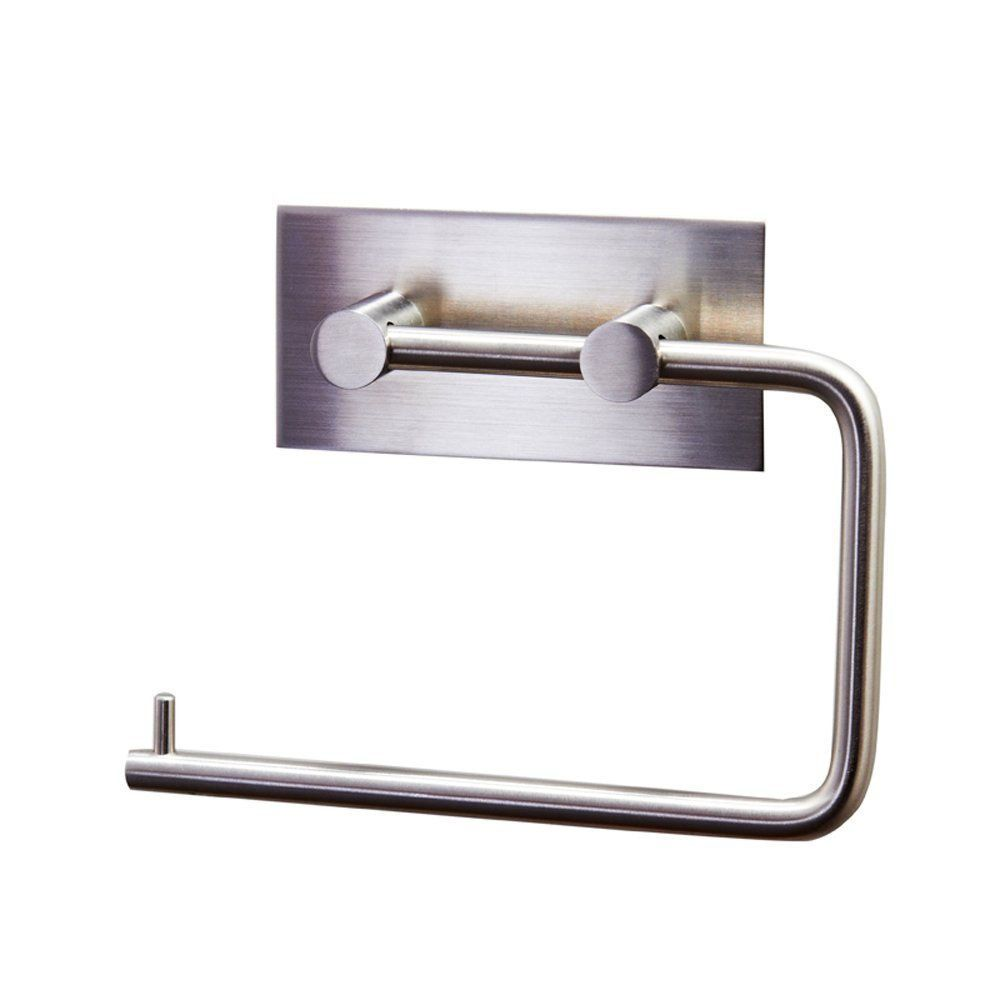 details about toilet paper tissue roll holder self adhesive wall