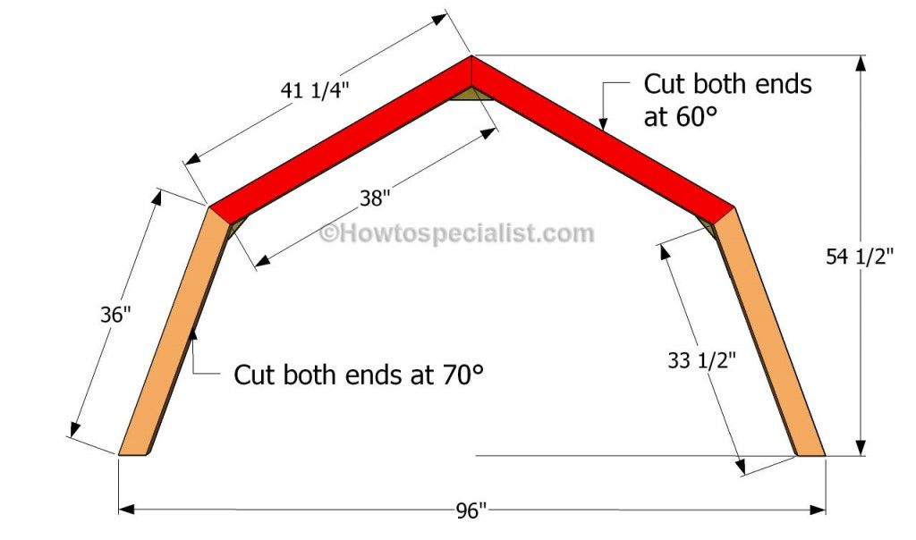 How To Build A Gambrel Roof Shed Howtospecialist How To Build Step By Step Diy Plans Gambrel Roof Shed With Loft Building A Shed