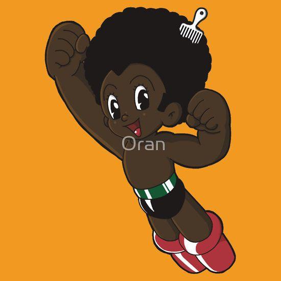 Afro Boy by Oran