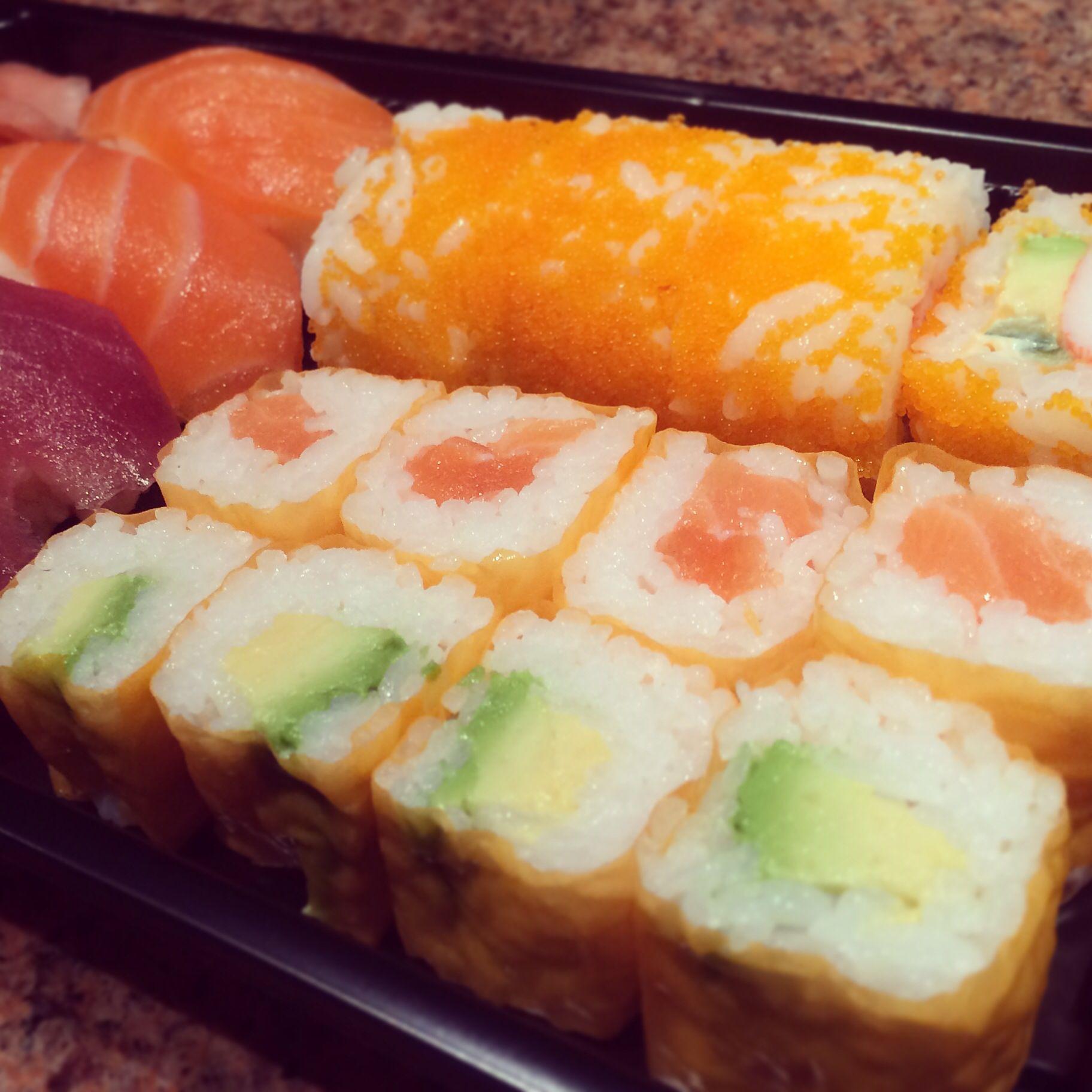 Orange Sushi Take Away Box; World Cup Brasil 2014