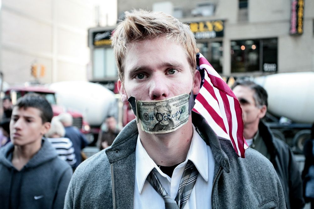 These are photos my brother in law took during wall street occupy in 2011 october, pretty cool stuff.