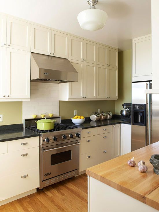 House · small kitchen remodel light airy from better homes gardens